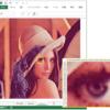 【バイナリデータ】VBAでBMP画像を読み込みExcel上でドット絵を作成する方法